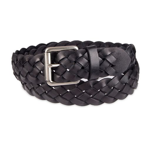 Men's damen + hastings Leather Braided Casual Belt