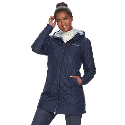 Women's Columbia Copper Crest Quilted Long Jacket
