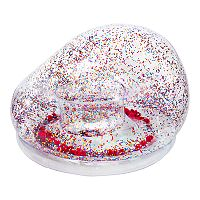 The Big One Glitter & Pom Inflatable Chair Deals