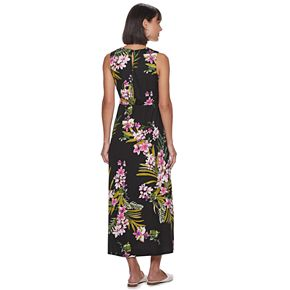 Petite Apt. 9 Pleated Bodice Maxi Dress