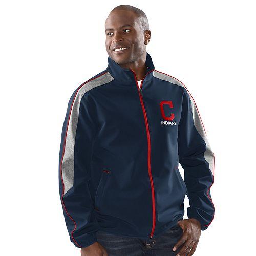 Men's Cleveland Indians Frequency Full Zip Jacket