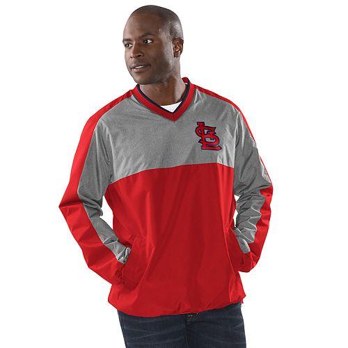 Men's St. Louis Cardinals Clutch Hitter V-Neck Pullover