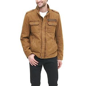 Men's Levi's® Sherpa-Lined Military Jacket