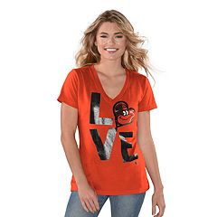 09fd9b0da80 Womens Baltimore Orioles T-Shirts Tops