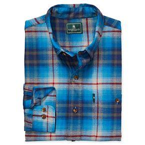 Men's G.H. Bass Plaid Fireside Regular-Fit Flannel Button-Down Shirt