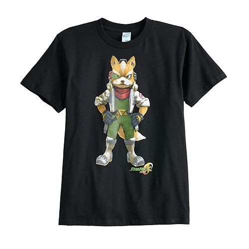 Boys 8-20 Nintendo Star Fox Tee
