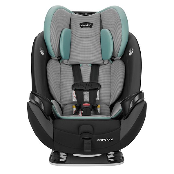 Evenflo Everystage Lx Convertible Car Seat, Evenflo Everystage Dlx All In One Car Seat