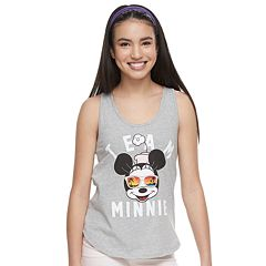 Disney's Minnie Mouse Juniors' 'Team Minnie' Graphic Tee by Family Fun