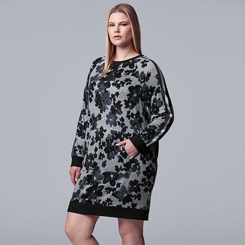Women's Plus Simply Vera Vera Wang Flower Sleep Shirt