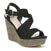 Fergalicious Vantage Womens' Slingback Wedge Sandals