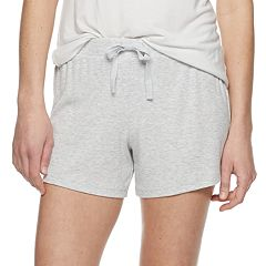 Women's SONOMA Goods for Life™ Ribbed Essential Pajama Shorts