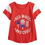 Girls 7-16 & Plus Size SO® Flag Graphic Tee