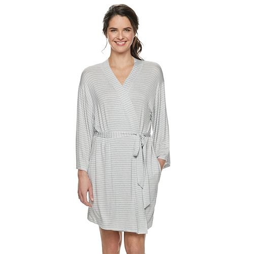 Women's SONOMA Goods for Life™ Knit Wrap Robe