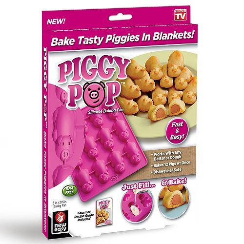 Piggy Pop Silicone Baking Pan
