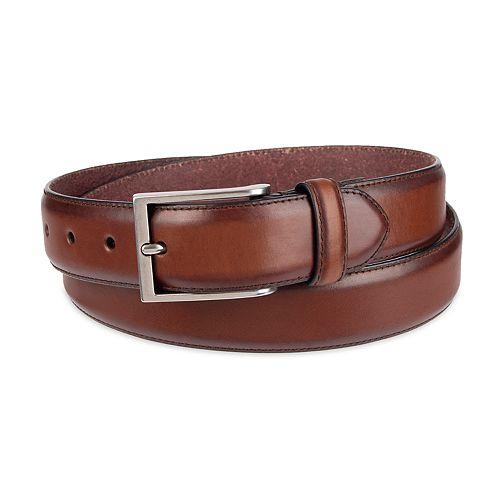 Men's damen + hastings Kinzie Leather Dress Belt