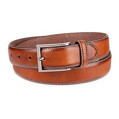 Men s damen + hastings Leather Dress Belt 3cd2aab92
