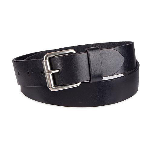 Men's damen + hastings Suede Leather Belt