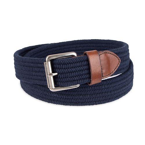Men's damen + hastings Braided Stretch Casual Belt