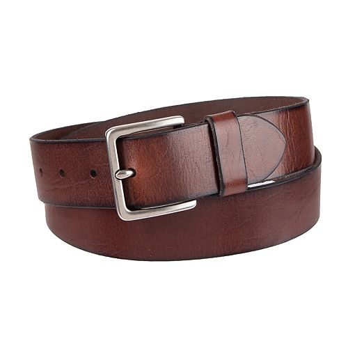 Men's damen + hastings Leather Dress Belt
