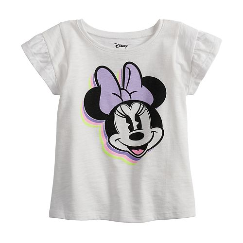 Disney's Minnie Mouse Baby Girl Ruffle Sleeve Tee by Jumping Beans®