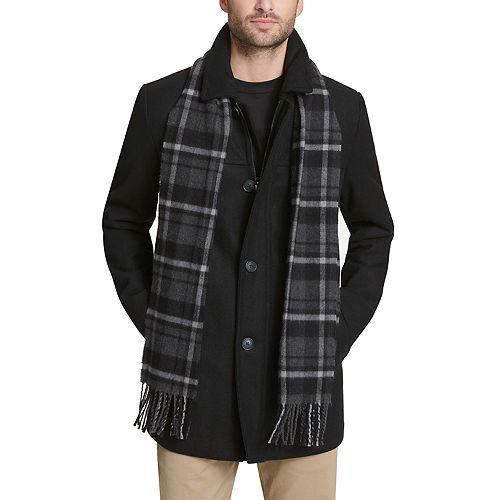 Men's Dockers® Wool Blend Scarf Coat