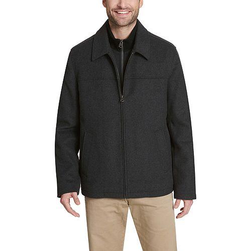 Men's Dockers® Wool Blend Open Bottom Bib Jacket