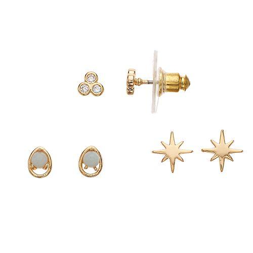Rhode & Co. Amazonite Earring Set