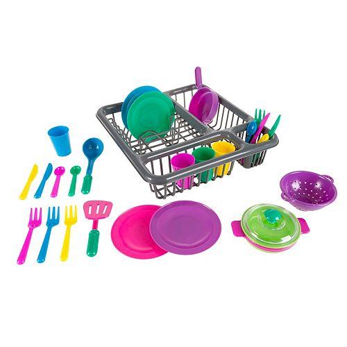 Hey! Play!  27-Piece Play Dish Set