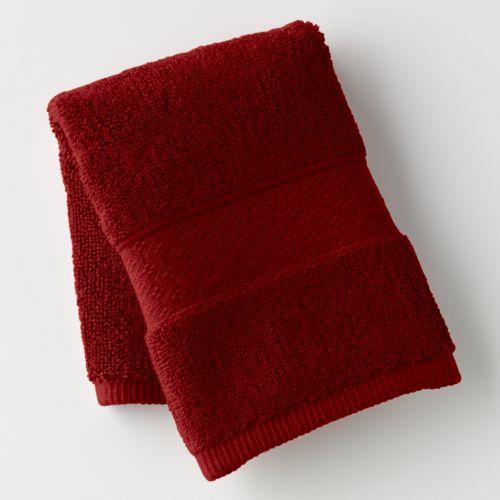 Chaps Home Turkish Premium Cotton Solid Washcloth