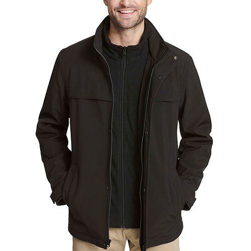 Men's Dockers® Softshell Performance Jacket with Microfleece Bib