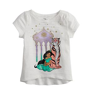 Disney's Aladdin Jasmine Baby Girl Embellished Graphic Tee by Jumping Beans®