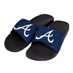 Men's Atlanta Braves Slide-On Sandals