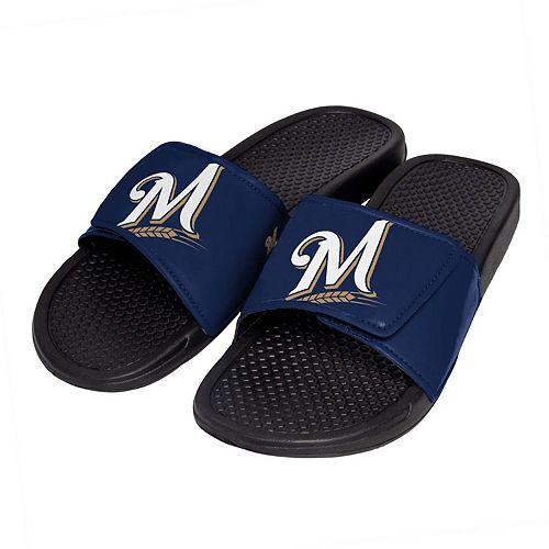 Men's Milwaukee Brewers Slide-On Sandals