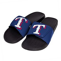 Men's Texas Rangers Slide-On Sandals