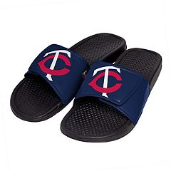 Men's Minnesota Twins Slide-On Sandals
