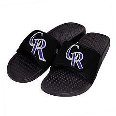 Men's Colorado Rockies Slide-On Sandals