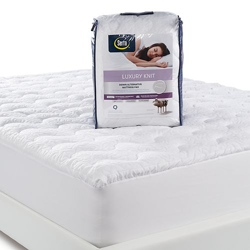Serta Luxury Knit Mattress Pad