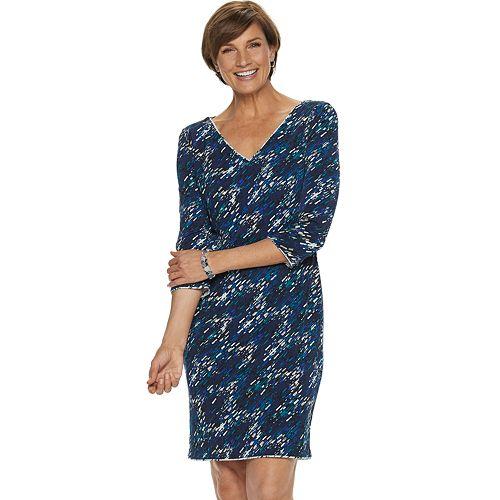 Women's Dana Buchman Travel Anywhere Reversible Dress