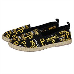Women's Pittsburgh Pirates Slip-On Canvas Shoes