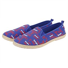 Women's Texas Rangers Slip-On Canvas Shoes