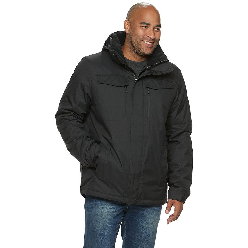 Big & Tall ZeroXposur Dozer Midweight Hooded Jacket