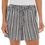 Women's Apt. 9® Gauze Smocked-Waist Soft Shorts