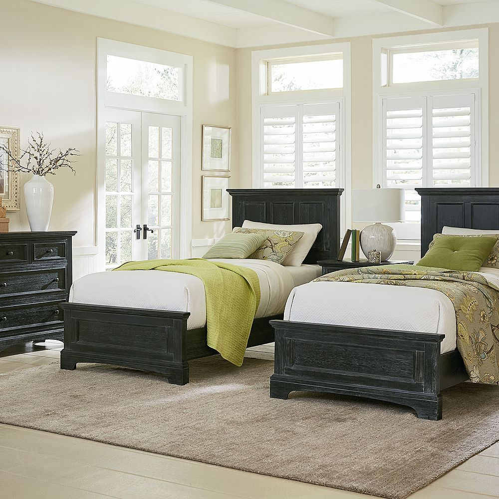 Inspired by Basset Farmhouse Basics Double Twin Bedroom Set