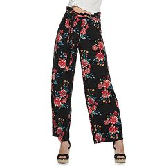 90b64d476972c8 Juniors  Pink Republic Paperbag Waist Peached Pants