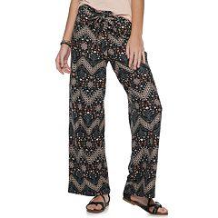 01c4d387d9400 Juniors' Pink Republic Paperbag Waist Peached Pants
