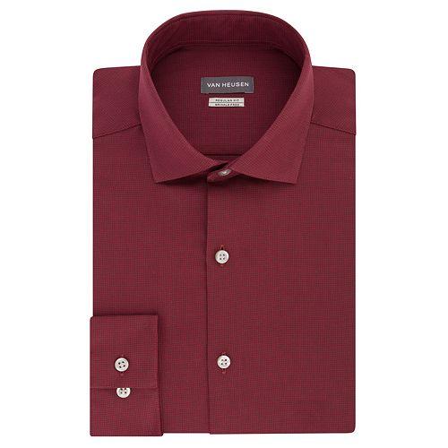 Men's Van Heusen Comfort Soft Regular-Fit Wrinkle-Free Dress Shirt