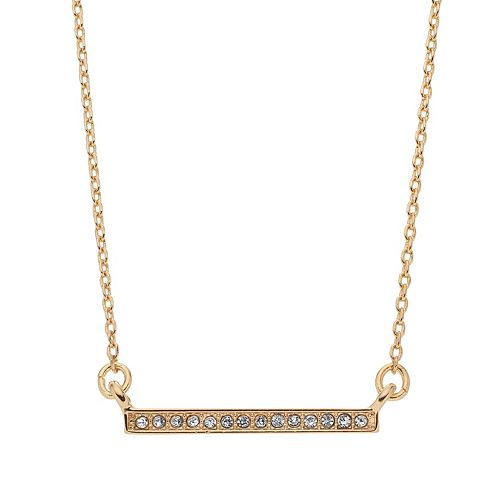 Women's LC Lauren Conrad Pave Bar Pendant Necklace
