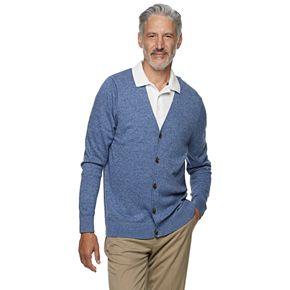 Men's Croft & Barrow Easy Care Sweater Cardigan