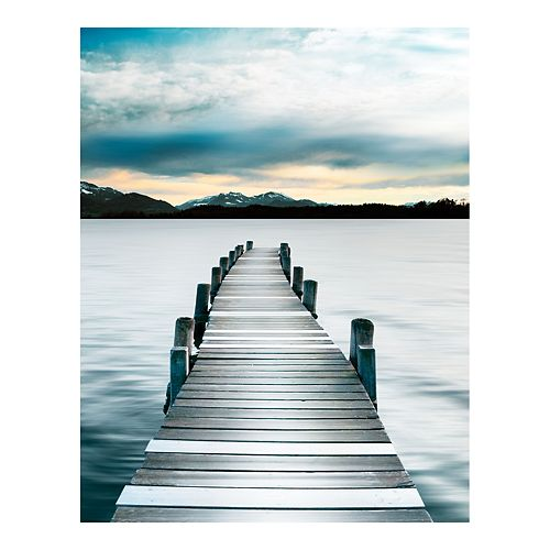 New View Gifts Pier Canvas Wall Art