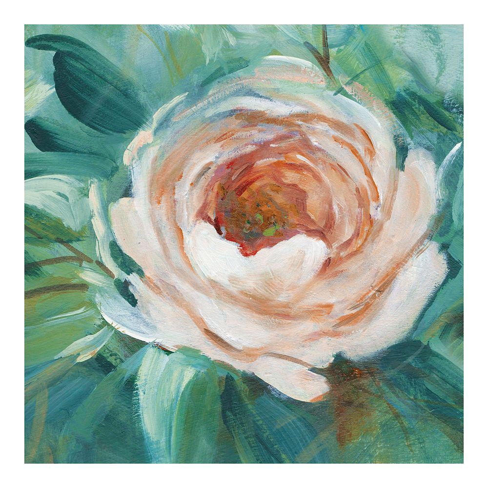 New View Gifts Rose Canvas Wall Art